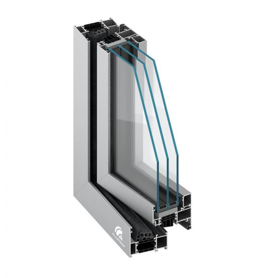 High-Performance, Passive House Windows and doors - MB 79 Profile