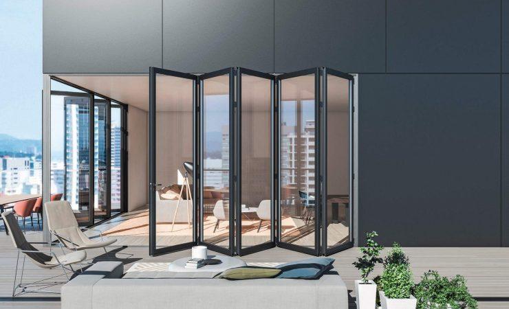 High performance, passive house windows - Sliding Accordion Door